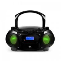 Бумбокс Auna Roadie DAB CD Bluetooth DAB / DAB + FM LED Световой эффект Black