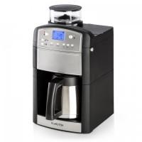 Кофеварка с интегрированной кофемолкой Klarstein Aromatica Silver