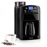 Кофеварка с интегрированной кофемолкой Klarstein Aromatica Black USBP