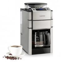 Кофеварка с интегрированной кофемолкой Klarstein Aromatica X стеклянный кувшин Aroma + нержавеющая сталь