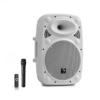 Акустическая система Auna Streetstar 10 Mobile PA BT USB / SD / MP3 FM AUX 400 Вт макс White