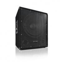 """Активный сабвуфер Auna Sub 15A, BI-AMP 600 Вт, 15 """"(38 см), выход на два сателлита"""