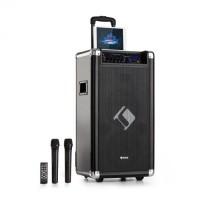 "Мобильная система Auna Moving 120 РА 2x8 ""НЧ-динамик 60/200 Wmax VHF микро USB SD BT AUX"