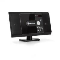 Вертикальная стерео-система Auna MCD-82  BT DVD USB SD MPEG4 HDMI Black