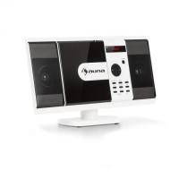 Вертикальная стерео-система Auna MCD-82  BT DVD USB SD MPEG4 HDMI White