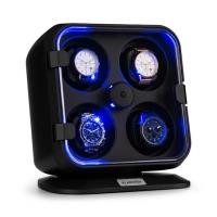 Вращатель часов Klarstein Clover 4 часов, 3 оборота, 4 скорости, синее светодиодное освещение