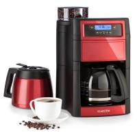 Кофеварка с интегрированной кофемолкой Klarstein Aromatica II Duo 1,25 л RED DMNONETA15