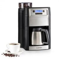 Кофеварка с интегрированной кофемолкой Klarstein Aromatica II Thermo 1,25 л SLV DMA0
