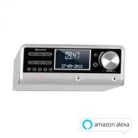 Кухонное радио Auna Intelligence Alexa-VoiceControl, Spotify, BT SLV