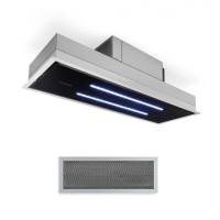 Кухонная вытяжка Klarstein High Line, 410 м3 / ч 75Вт 3 уровня мощности, LED-подсветка NDY