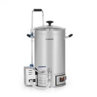 Автоматический бойлер Klarstein Brauheld 1600W 15 литров 30-140 ° C циркуляционный насос из нержавеющей стали