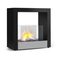 Этанольный камин Klarstein Phantasma Cube 4 часа время горения бездымная горелка из нержавеющей стали