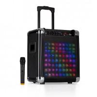 Активная акустическая система Auna Moving 80.2 LED 100 Вт макс. УКВ micro USB SD BT AUX