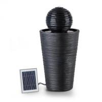 Декоративный фонтан Blumfeldt Liquitorre XL 200л / ч солнечная панель 2W батарея LED
