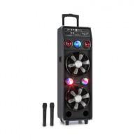 Акустическая система Auna DisGo Box 2100 PA 100 Вт RMS BT SD USB аккумулятор