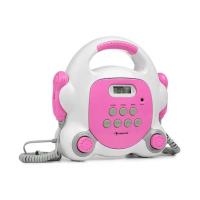 Универсальный караоке-плеер Auna Pocket Rocker BT USB-порт MP3 2xmicro PNK