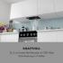 Кухонная вытяжка Klarstein Paolo 52,5 см 600 м³ / ч LED touch Black