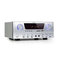 Компактный усилитель Auna Amp-2 BT HiFi 2x50 Вт RMS BT USB SD FM 2 x MIC