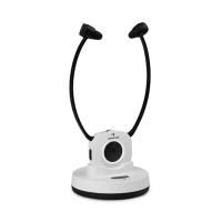Беспроводные стереоскопические наушники Auna Stereoskop InEar 20m 2.4GHz TV / HiFi / CD / MP3 АКБ White