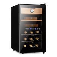 Винный холодильник и хьюмидор Klarstein El Dorado Humidor 100W Touch 48L LED