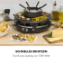 Раклет-гриль и фондю Klarstein Fonduelette Raclette and Fondue 1350W 1 литр Ø 38 см для 8 человек VTNW