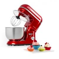 Кухонный комбайн Klarstein Bella Elegance 1300 Вт 1.7PS 6 уровней 5 литров Red M1001FVT