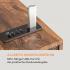 Вертикальный проигрыватель винила Auna Verticalo SE USB BT Line-Out Wood VTFLL