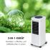 Воздушный охладитель, вентилятор, увлажнитель, очиститель воздуха, Klarstein Windspiel  3-в-1,100 Вт 312 м³ / ч  V1137FUSLILNSA0