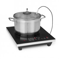 Варочная индукционная плита Klarstein Cook n Roll, 2000 Вт, таймер, 3 часа, 10 уровней, термометр