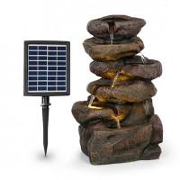 Декоративный фонтан Blumfeldt Savona 2,8 Вт polyresin 5h светодиоды, имитация камня DMA15