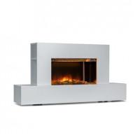 Электрический камин Klarstein Heat 'n Beat 900 / 1800W LED Bluetooth Speaker Flame illusion