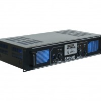 Усилитель звука Skytec SPL 1000 Amplifier 2x 500W EQ Black