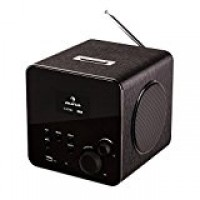 Интернет-радио Auna RadioGaga WLAN / LAN DAB / DAB + FM USB AUX Black