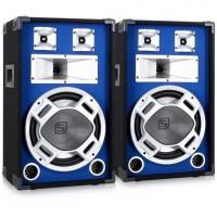 Комплект пассивной акустики Skytec SKY-178 PA PA box 38см (15``) Blue LED световой эффект, 800 Вт