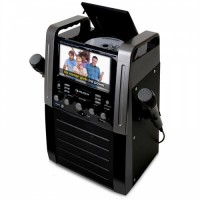 Музыкальная караоке-система Auna KA8B Karaokeanlage DVD-плеер