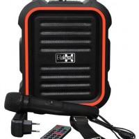 Активная акустическая система E-Lektron EL16-P  MP3, FM, АКБ, микрофон, Bluetooth