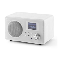 Интернет-радио Auna IR-150 FM DLNA WLAN Retro Remote White