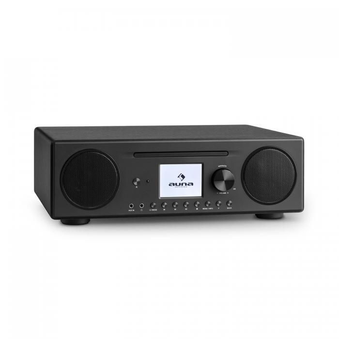 Интернет-радио Auna Connect CD Spotify BT App BK VT1