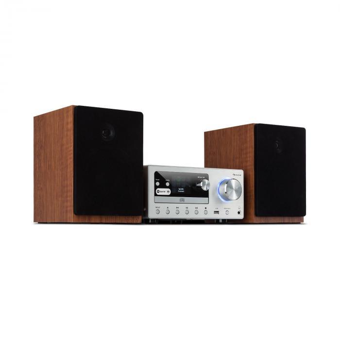 Мультимедиа стереосистема Auna Connect System 80 Вт макс. Интернет DAB + FM MP3 CD
