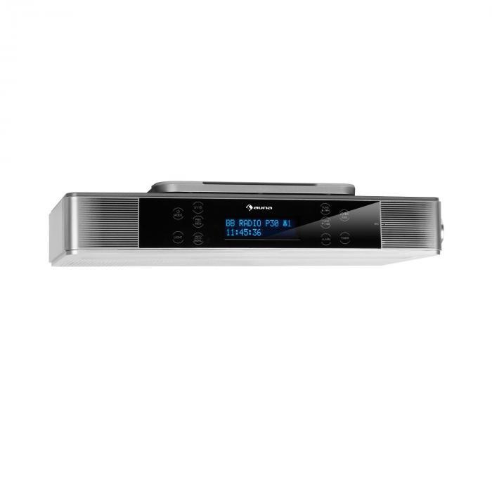 Кухонное радио Auna KR-140 Bluetooth DAB + / FM Радио светодиодная подсветка WH