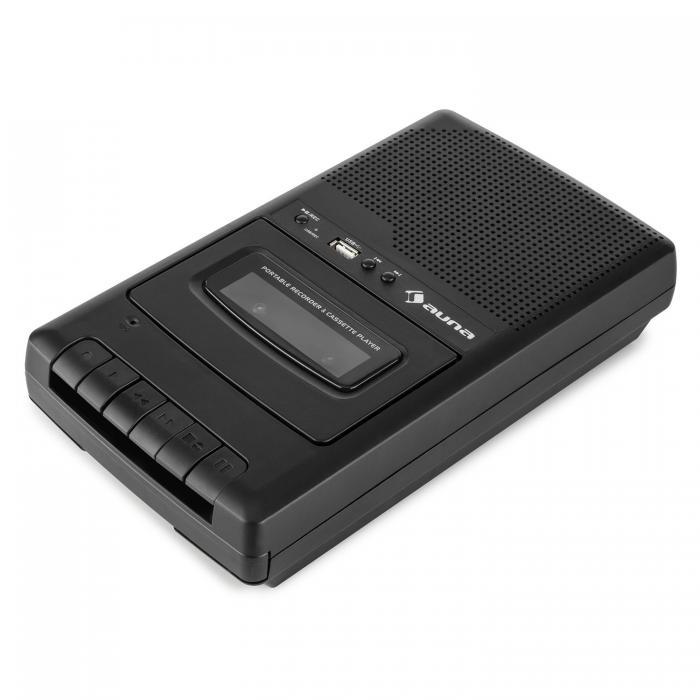 Портативный магнитофон Auna RQ-132USB диктофон магнитофон Micro USB