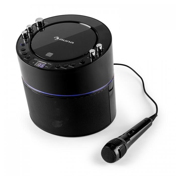 Караоке-система Auna Superstarlet Karaoke System CD + G TV-соединение Black