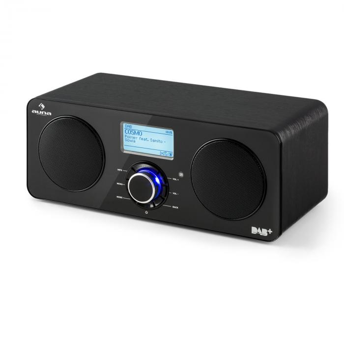 Интернет-радио Auna Worldwide Stereo App Control Black