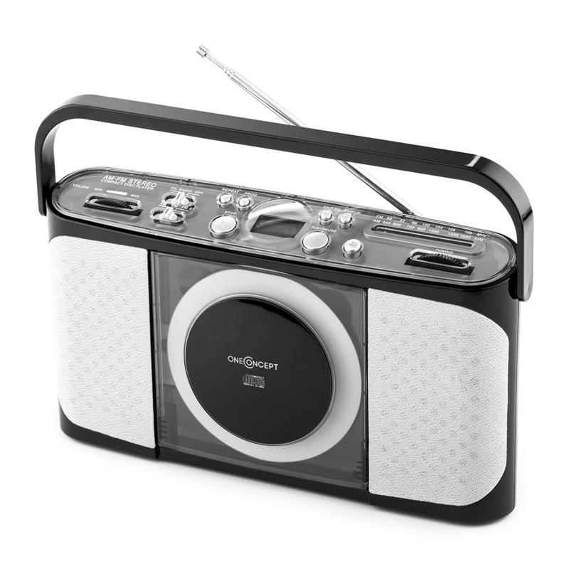 Магнитола oneConcept Boomtown CD Player Radio NCD