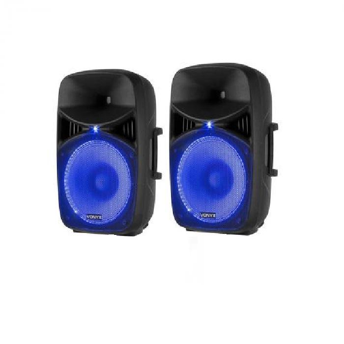 """Комплект динамиков Vonyx VPS122A 800 Вт 12 """"(30 см) USB / SD порт MP3 BT NODY/STV"""