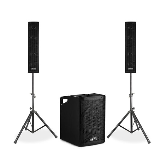 Комплект акустики Vonyx VX1050-2.1BT Active Speaker Kit 2.1 700W BT NW