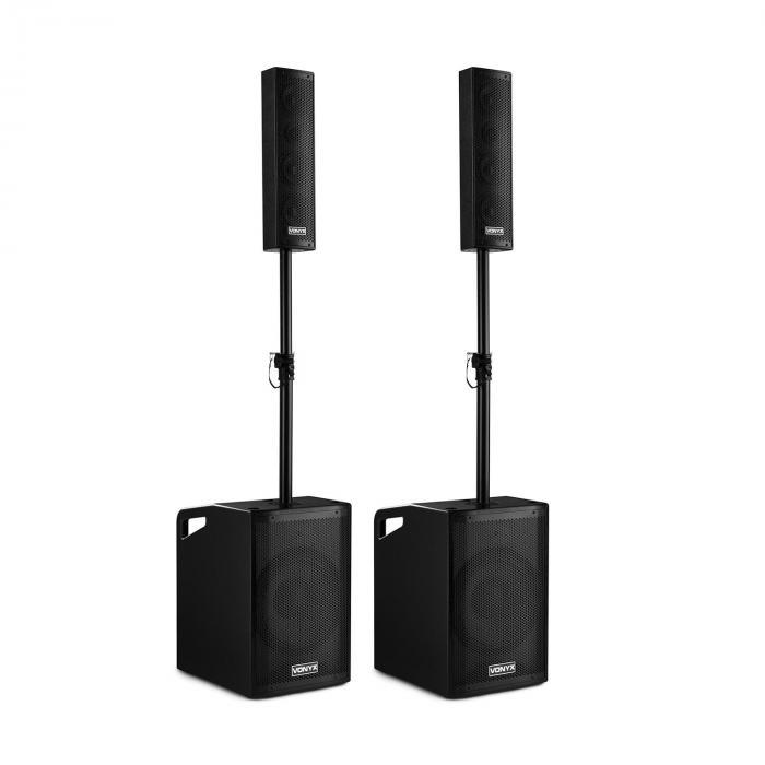 Комплект акустики Vonyx VX1050BT Active Speaker Kit 2.2 1150W BT noMic/Cover/Stat