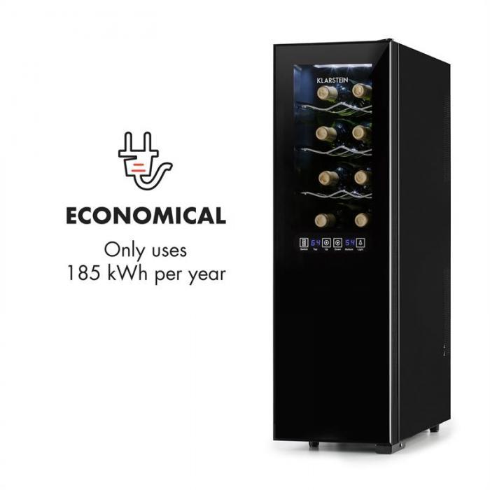 Винный холодильник Klarstein Bellevin 45 литров 16 бутылок 2 зоны