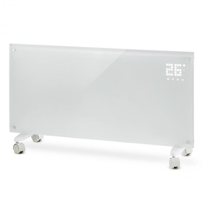 Конвекционный нагреватель Klarstein Bornholm 2 режима нагрева: 1000/2000 Вт Светодиодный дисплей Таймер до 40 м²  Напольный White
