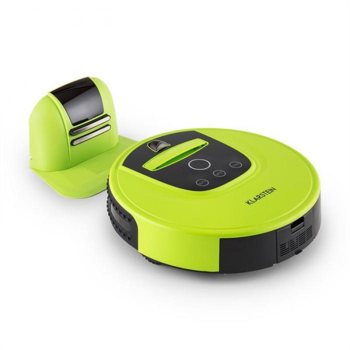 Вакуумный робот-пылесос Klarstein Clean Hero Green 422VT70M
